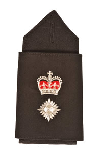 Epaulette for Chief Superintendent