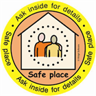 Image result for avon and somerset safe places logo