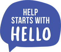 Help Starts With Hello -Logo -Colour